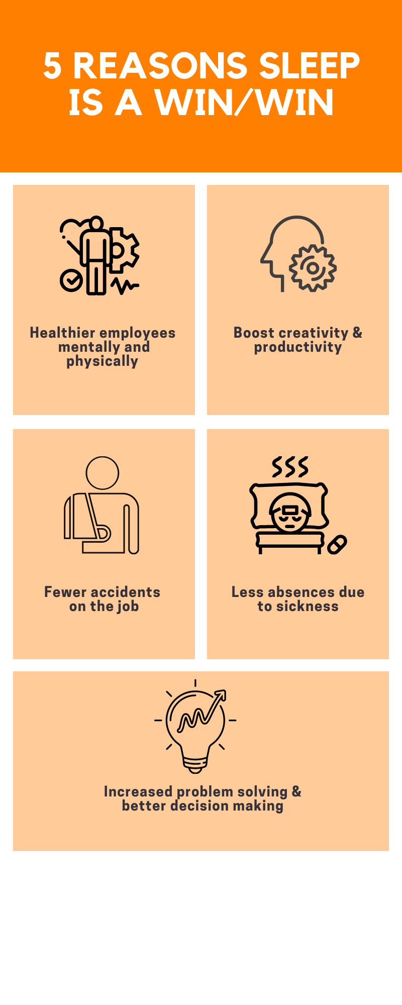 Why sleep is good for both employees and employers